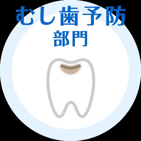 むし歯予防部門